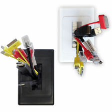 Wall Plate Brush Wallplate Outlet Cover for Cable Lead Management/organiser/Tidy