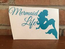 Mermaid Life Vinyl Decal for your car, laptop and more!