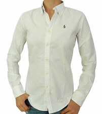 New Original Ralph Lauren Women Slim Fit Oxford Casual Shirt