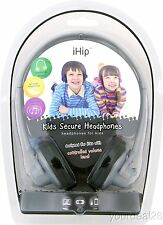 HOT ITEM! iHip, Headphones For Kids, W Big Sound, In Many Nice Colors - IP-HP8 -