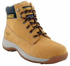Dewalt Apprentice Honey Safety Boots. Steel Toe Cap.Mens & Ladies. Sizes 3-12