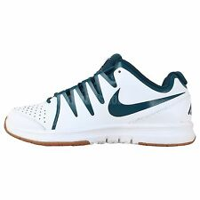 Nike Air Vapor Indoor Court White Blue 2014 Mens Badminton Tennis Shoes Sneakers