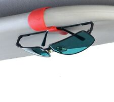 Bobino Glasses Clip Holder for Sunglasses Car Sun Visor, Clips in Choice Colours