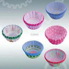 100 Pcs Paper Cake Cup Liners Baking Cup Muffin Kitchen Cupcake Cases Party