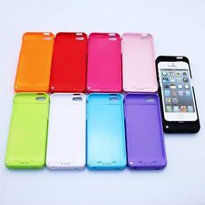 2200mAh Backup Battery Charger Case Cover Power Bank Best Mate For iPhone 5 5S