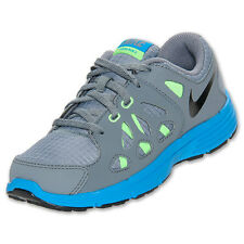 NIKE Kids Fusion Run 2 PS Grey Lime Blue Shoes NIB Select Kids Size