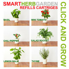 Click and Grow Smart Herb Garden Grow Plants - Select Refill Seed Cartridges