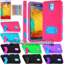 RUGGED HYBRID HARD STAND CASE COVER FOR SAMSUNG GALAXY NOTE III 3 N9000 PROTECT