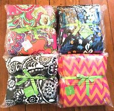 Vera Bradley *Throw Blanket* in Many Retired Colors Plush Stadium Afghan *NWT*