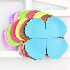 7 x New Flower Shape Insulated Heat Silicone Coasters Coffee Tea Drink Cup Pad
