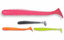 "Crazy Fish Vibro Worm 55mm / ""edible"" soft baits / 8pcs. per pack"
