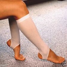 COMPRESSION SOCKS Prevent Varicose & Spider Veins Large or Small Light 8mmHg New