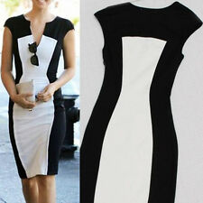 Women's White Summer Bandage BodyCon Lace Evening Sexy Party Cocktail MINI Dress