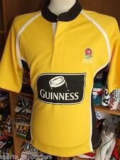 W@W BNWT LARGE RFU YELLOW RUGBY POLO SOCCER SHIRT GUINNESS JERSEY MEN / LADIES