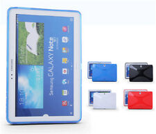 Soft Silicone Rubber Skin Case TPU Cover for Samsung Galaxy Tablet