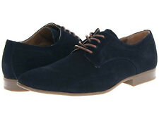 Calvin Klein Mens Shoes Casual Dress Suede Contrast Oxfords Cassius F0408 Navy