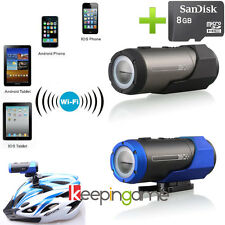 WIFI HD 1080P Sports DV Waterproof Outdoor Action Camera Camcorder F33 + 8GB TF