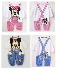 1pcs Baby mickey romper Toddler clothing boy girl outfits set for 6-24 Month C25