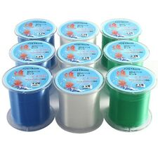 500M Super Strong Multifilament PE Braided Fishing Line 2.0/0.6/4.0