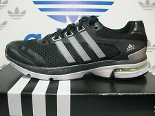 NEW ADIDAS Supernova Glide 5 Men's Running shoes - Black/Silver;  Q32809