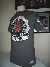 T-SHIRT HOMME/MEN CATCH WWE CM PUNK TAILLE : YOUTH & S,M,L,XL,XXL ALL SIZE