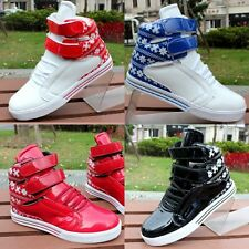 Men's Tide Shoes High Top Movement Velcro Lace Up Sports Sneakers Athletic Size