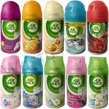 3 X AIRWICK AIR WICK FRESHMATIC REFILLS 250ML AIR FRESHENER SCENT FRAGRANCE