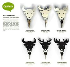 QUALY GENUINE CHIC ANIMAL STYLE HOME LIVING KEYRING MAGNET HOLDER WALL HANGER