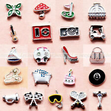 1 X New Mini Floating Charms Cute For Glass Living Memory Lockets Free Shipping