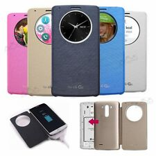 FLIP SMART WIRELESS CHARGING NFC IC CHIP COVER CASE FOR LG G3
