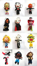 Voodoo String Doll Charter Movie Keychain Ornament Accessory Gift # Set 4