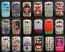 Owls Crown Variety Tpu Gel Soft Skin Case Cover For Samsung Galaxy Ace 3 S7272