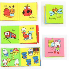 Soft Funny Cognize Book Cloth For Baby Intelligence Development Learn Picture