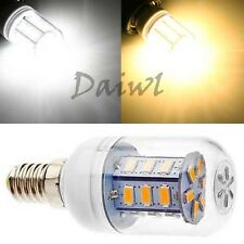 E12 24 SMD 5630 5730 5W LED Corn Bulb Pure Warm White Light 110V 220V
