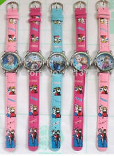 Free shipping wholesale frozen cartoon watches kids lovely children Wristwatches