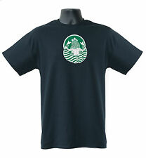 Starbucks Coffee Sexy Mermaid from back FHM Top100 Mens Ladies T-Shirts  S-XXL