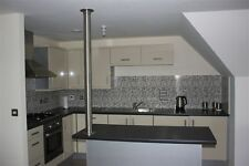 """Kitchen Island Cable Tidy Stainless Steel 316L Satin Polished 3"""""""