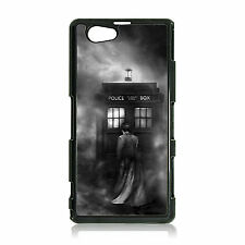 NEW DR WHO DOCTOR WHO'S TIME LORD TARDIS SONY XPERIA Z1 COMPACT HARD CASE MINI
