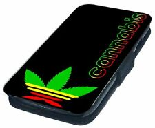 Adihash Printed Faux Leather Flip Phone Cover Case