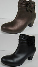 "UNLISTED by KENNETH COLE ""QUICK DANCE"" GIRL'S FASHION ANKLE BOOTS SIDE ZIP NEW"