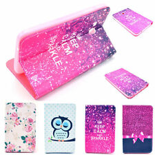 Premium Selection Images Leather Stand Case Pouch for Samsung Galaxy Tab 3 T110