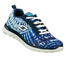 Skechers FLEX APPEAL-LIMITED EDITION Women's Shoes NAVY/WHITE 11884NVW