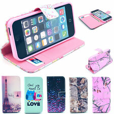 Premium Selected Images Protector Flip Leather Stand Case Cover for iPhone 5/5S