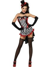 Adult Ladies Sexy Madame Vampire Vamp Halloween Party Fancy Dress Costume Outfit
