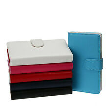 Color ID card Wallet leather case pouch for Samsung Galaxy Core II 2 SM-G355H b