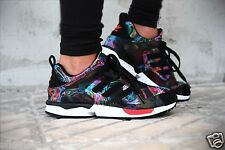 ADIDAS ZX 5000 RSPN M18224 MULTICOLOR limited edition flux all over print donna