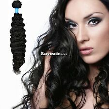 100% Remy Virgin Indian Body Deep Wave Curly Human Hair Weave Extension ESY1