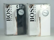 Hugo Boss Men's Cotton Classic V Neck T Shirt 3 Per Pack 50236736