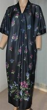 Short Sleeve Zip Front Kaftan/Dressing Gown One Size