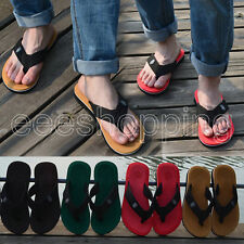 Hot Fashion Mens Flip Flops Men Sandals Slipper Casual Beach Home Shoes all size